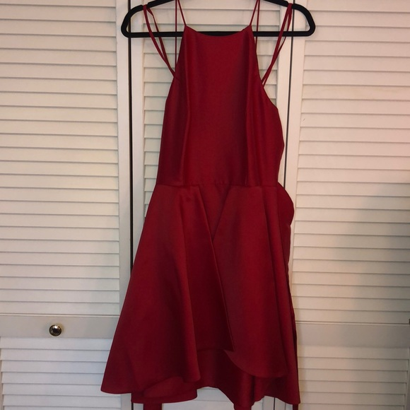 Gianni Bini Dresses & Skirts - Gianni Bini Red satin cocktail dress